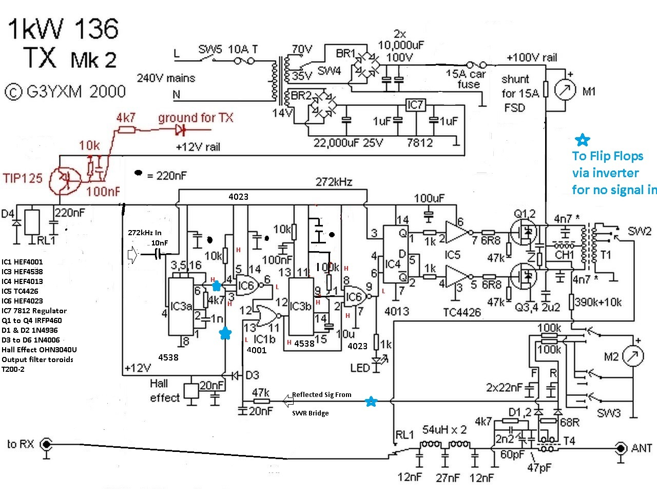 Comparing The Relative Percentage Change Of Two Voltage Outputs Circuit Schematic For Lm339 Quad Comparator A Few Deletions And Where I Have Tapped Individual Fault Cause Leds